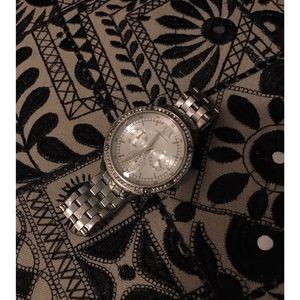 Silver Armani Exchange Watch